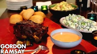 Download Smoky Pulled Pork with Chipotle Mayonnaise | Gordon Ramsay Video