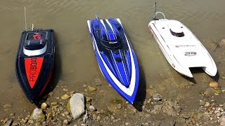 Download RC ADVENTURES - 3 Speed Boats & Full Scale Recovery - Impulse 31, Spartan, Mystic 29 Video