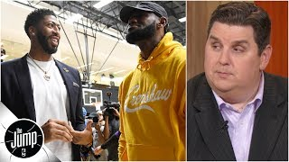 Download LeBron, Anthony Davis and Lakers need to avoid 'underdog mentality' - Brian Windhorst | The Jump Video