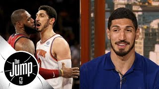Download Enes Kanter reveals what he thought when he went face-to-face with LeBron James | The Jump | ESPN Video
