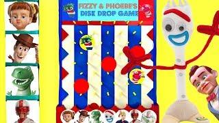 Download Forky de Toy Story 4 Juega al Juego de los Discos de Fizzy y Phoebe Video