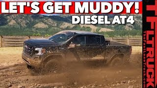 Download Can the New 2020 GMC Sierra 1500 AT4 Diesel Conquer Mud & Rocks? Video