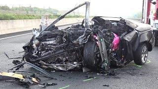 Download 4 Tote - 1 Verletzte bei Unfall auf A4 Höhe Kerpen-Buir am 27.08.17 + O-Töne Video