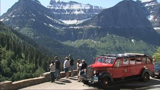 Download Red Bus Tour - Glacier National Park Video
