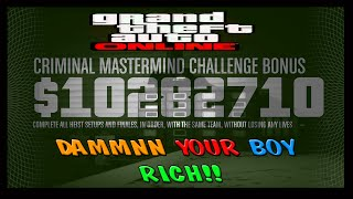 Download GTA 5 How To Get The Criminal Mastermind Challenge Glitch Video