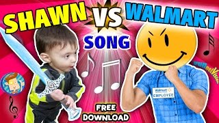 Download BABY SHAWN vs. WALMART! Kids Rap Song ″Touch & Rhyme″ Challenge (FUNnel Vision Music Video Vlog) Video