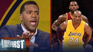 Download Kobe or LeBron: Jim Jackson's unique insight expels the NBA's biggest myth | FIRST THINGS FIRST Video