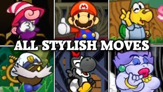 Download Paper Mario: The Thousand-Year Door - All Stylish Moves Video