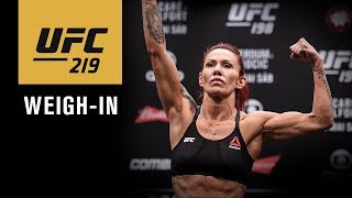 Download UFC 219: Official Weigh-in Video