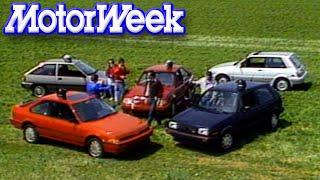 Download MotorWeek   Retro Review: '86 Hot Hatch Comparo Video