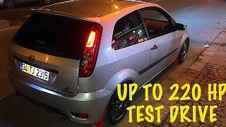 Download Ford Fiesta S -Big Turbo Project Test Drive- Video