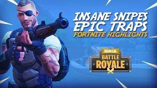 Download Insane Snipes Epic Traps!! - Fortnite Battle Royale Highlights - Ninja Video