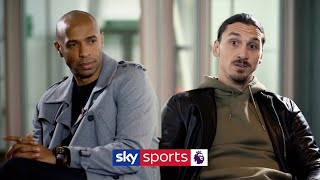 Download ″I came back to win the Premier League!″ | Thierry Henry meets Zlatan Ibrahimovic Video