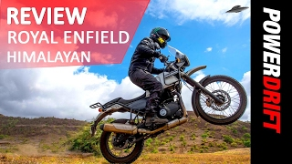 Download Royal Enfield Himalayan : The Most capable Royal Enfield yet? : PowerDrift Video
