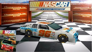 Download Playing The First EVER NASCAR Video Game (NASCAR Racing) Video