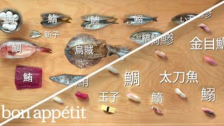 Download How to Make 12 Types of Sushi with 11 Different Fish | Handcrafted | Bon Appétit Video