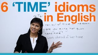 Download Learn English - 6 common idioms about TIME Video