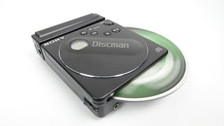 Download The smallest Discman ever made - was smaller than a CD Video