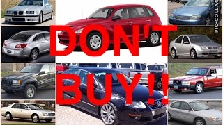 Download 10 Used Cars You Should NEVER Buy (PART 2) Video