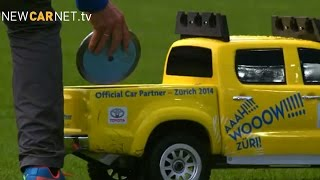 Download Toy Toyota pick-ups shine at Athletics Championships Video