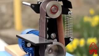 Download ″J-1″ Гриндер - ленточно-шлифовальный станок - ЛШС на 610 мм (24″) (2) Video