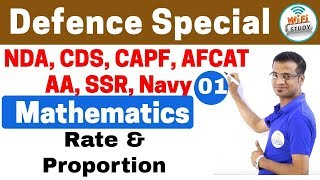 Download 11:00 PM - Defence Special Mathematics by Naman Sir | Day #01| Rate and Proportion Video
