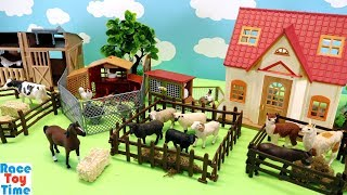 Download Toy Farm Animals For Kids - Learn Animal Names Video
