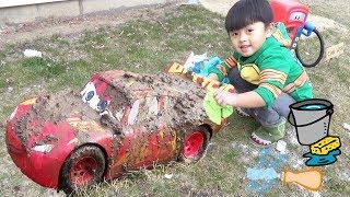 Download Disney Cars Lightning McQueen Car Wash Video