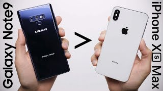 Download 25 Reasons Galaxy Note 9 Is Better Than iPhone XS Max Video