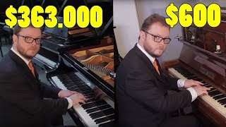 Download Can You Hear the Difference Between Cheap and Expensive Pianos? Video