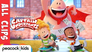 Download Captain Underpants ALL CLIPS Official | CAPTAIN UNDERPANTS: THE FIRST EPIC MOVIE Video