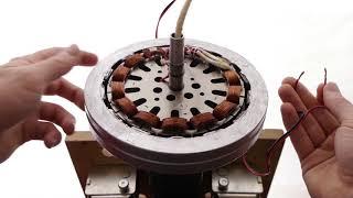 Download Turn a ceiling fan into a wind turbine generator?! Video