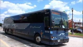Download GREYHOUND BUS PREVOST X3-45 @ FREDERICK, MD Video