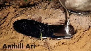 Casting a Fire Ant Colony with Molten Aluminum (Cast #043) Free