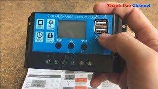 Download Bộ điều khiển sạc năng lượng mặt trời 30A Star Solar KW1230 Video