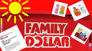 Download Family Dollar $5/$25 + Clearance and more Clearance coupon ends 525 Video
