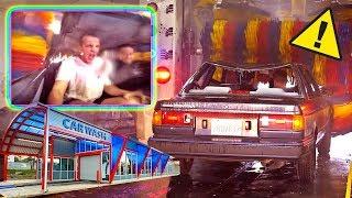 Download CAR WASH + NO WINDOWS = BAD IDEA... Video