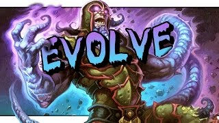 Download Hearthstone: Gadgetzan Prototype - Evolve Shaman - Not Even His Final Form Video