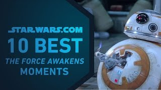 Download Best Star Wars: The Force Awakens Moments | The StarWars 10 Video