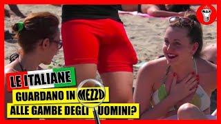 Download Le Donne Guardano in Mezzo alle Gambe degli Uomini in Spiaggia? - [Esperimento Sociale] - theShow Video