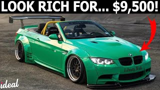 Download 10 CHEAP CARS THAT WILL MAKE YOU LOOK RICH Video