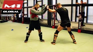 Download Stephan Puetz training for M-1 Challenge 63, 4th December Video
