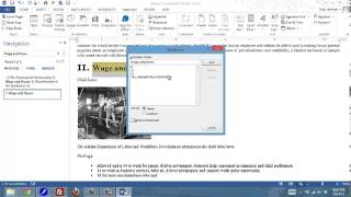 Download Creating Bookmarks and hyperlinks and a PDF file from Word Video