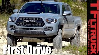 Download 2017 Toyota Tacoma TRD Pro First Drive Off-Road Technology Demonstration Video