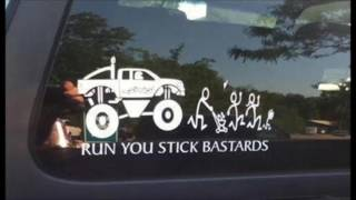 Download Funny Bumper Car Stickers that will make you look twice Video