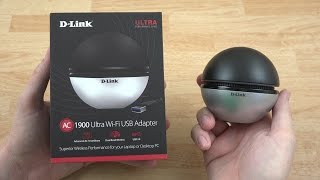 Download D-Link AC1900 Wi-Fi USB 3.0 Adapter Unboxing and Speed Tests! (DWA-192) Video