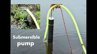 Download How to Make Powerful Mini Submersible Pump - at Home Video