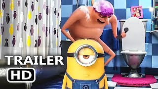 Download DESPICABLE ME 3 ″Let's Pee Pee″ Trailer (2017) Minions Animated Movie HD Video