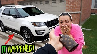 Download SURPRISED MY WIFE WITH HER DREAM CAR! (and more) Video