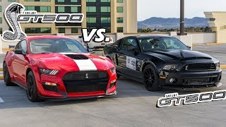Download 2020 GT500 vs. 2014 GT500 (An In-Depth Comparison) Video